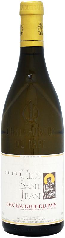 バックヴィンテージ入荷しました クロ・サン・ジャン シャトーヌフ・デュ・パプ ブラン [2015]750ml (白ワイン)