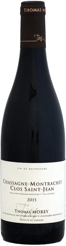 トマ・モレ シャサーニュ・モンラッシェ 1er クロ・サン・ジャン [2015]750ml (赤ワイン)