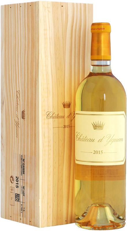 ワインアドヴォケイト:100ポイント 【木箱入り】シャトー・ディケム [2015]750ml