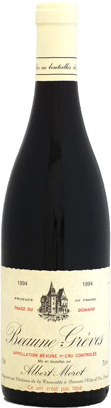 ドメーヌ・アルベール・モロ ボーヌ 1er グレーヴ [1994]750ml