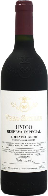 ベガ・シシリア ウニコ レゼルバ・エスペシアル NV 750ml (2006,2007,2009) 2019年リリース