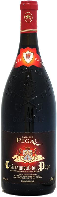 【マグナム瓶】 ドメーヌ・デュ・ペゴー シャトーヌフ・デュ・パプ キュヴェ・ダ・カポ [2015]1500ml