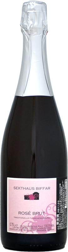 驚きの8年熟成のゼクトのロゼ ギフト ヨーゼフ ビファー醸造所 最新 ゼクトハウス ビファー ロゼ ブリュット 750ml 2011