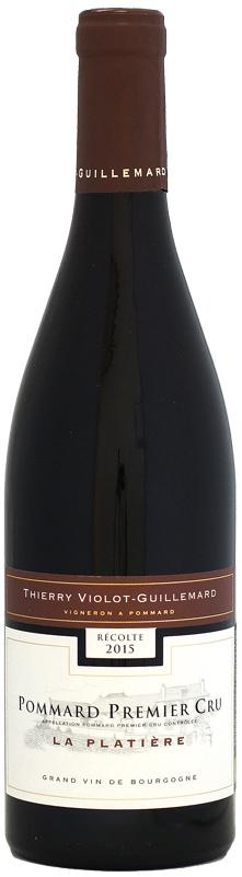 品質満点! ドメーヌ・ティエリー [2015]750ml・ヴィオロ・ギィマール ポマール ポマール 1er ラ 1er・プラティエール [2015]750ml, トヨダチョウ:dd5a2b42 --- 3crosses.ca