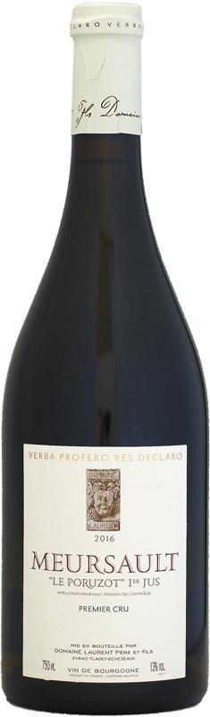 ドメーヌ・ローラン ムルソー 1er ル・ポリュゾ・プルミエ・ジュ [2016]750ml (白ワイン)