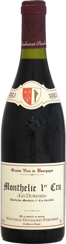 [1993] モンテリー・ドゥエレ・ポルシュレ モンテリー・ルージュ 1er レ・デュレス 750ml