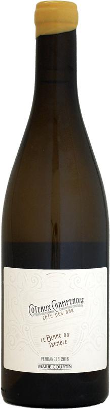 マリー・クルタン ル・ブラン・デュ・トランブル コトー・シャンプノワ [2016]750ml (白ワイン)