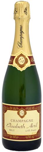 僕の一番お気に入りのシャンパン エリザベート アヴリル 正規販売店 割り引き ブリュット 750ml