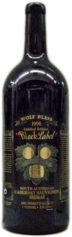 ダブル・マグナム瓶 ウルフ・ブラス・ブラック・ラベル [1996]3000ml 木箱入り