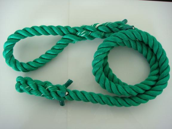 トレーニングロープ ターザンロープ カラー 登り綱 30mm×9M 緑