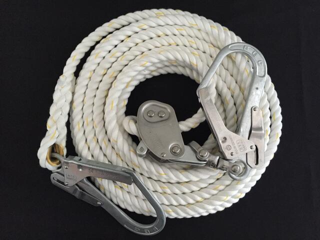 親綱ロープ/送料無料/クレモナロープ/クレモナ製親綱ロープ 16mm×20M 緊張器付 緊張器付, 味千拉麺 通販事業部:80b23dee --- officewill.xsrv.jp