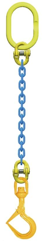 <title>鉄板吊チェーンスリング 直営店 吊り具 マーテック 鉄板吊りチェーン10mm×1M 3t TA1‐BMS</title>