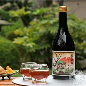 日本の贅沢な甘味を味う 梅酒 ブランデー ギフト 大阪府 アイテム勢ぞろい 特別セール品 河内ワイン 大黒福梅 720ml