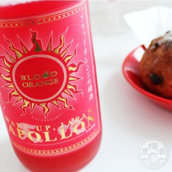 エネルギッシュな朝焼けにもう一度乾杯 倉庫 梅酒 ギフト アポロン 商い 天吹酒造 ブラッドオレンジ梅酒 1800ml 佐賀県