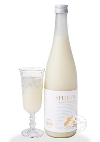 白色的霞多丽干白葡萄酒kawaii SHIROI CHARDONNAY 720ml
