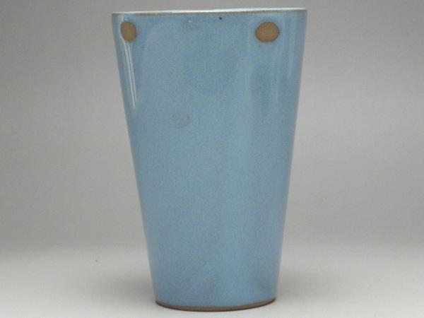出荷 B級品 水色楕円抜き メーカー再生品 土物フリーカップ 普段使いの食器