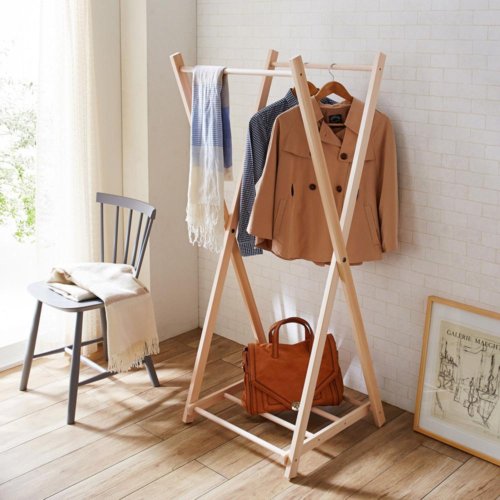 人気ブランドを 【送料無料】東濃桧のX型ハンガー, 家具のアイテム:b326295b --- canoncity.azurewebsites.net