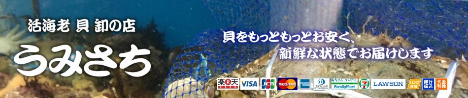活海老 貝 卸の店うみさち:全国から独自の仕入れルートを使い、旬で新鮮な海の幸を仕入れています。