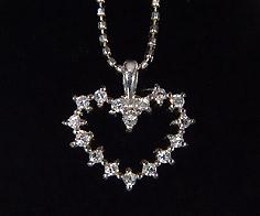 K18 ダイヤモンド 0 14ct ハートモチーフ ペンダント ネックレス ゴールド ダイアモンド 18K 18金 カットボールチェーン 誕生日 4月誕生石 メッセージ ギフト 贈り物j34R5ALScq