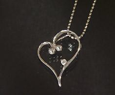 K18 ダイヤモンド ハート ペンダント トップ送料無料 ネックレス ゴールド ダイアモンド 18K 18金 誕生日 4月誕生石 メッセージ ギフト 贈り物