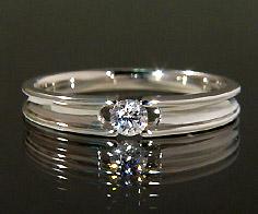 K18 ダイヤモンド 0.10ct リング送料無料 指輪 18K 18金 ゴールド ダイアモンド 誕生日 4月誕生石 刻印 文字入れ ピンキーリング メッセージ ギフト 贈り物
