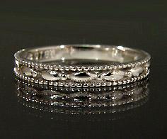 K18 レディス デザインリング 指輪 18K 18金 ゴールド 刻印 文字入れ ピンキーリング メッセージ ギフト 贈り物