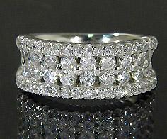 【GWクーポン配布中】K18 ダイヤモンド 1.05ct リング送料無料 指輪 18K 18金 ゴールド ダイアモンド 誕生日 4月誕生石 刻印 文字入れ ピンキーリング メッセージ ギフト 贈り物