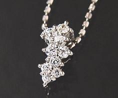 【GWクーポン配布中】K18 ダイヤモンド 0.15ct ペンダント送料無料 ネックレス ゴールド ダイアモンド 18K 18金 カットボールチェーン 誕生日 4月誕生石 メッセージ ギフト 贈り物