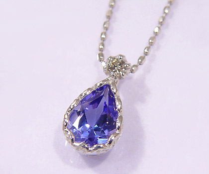 Umu rakuten global market k18 tanzanite diamond pendant goccia k18 tanzanite diamond pendant goccia mozeypictures Choice Image