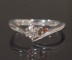 1点限り K18WG ダイヤモンド 0 234ct ブラウンダイヤモンド リング5j3c4qARL