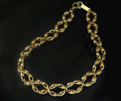 ブレスレット ゴールド K18 チェーン