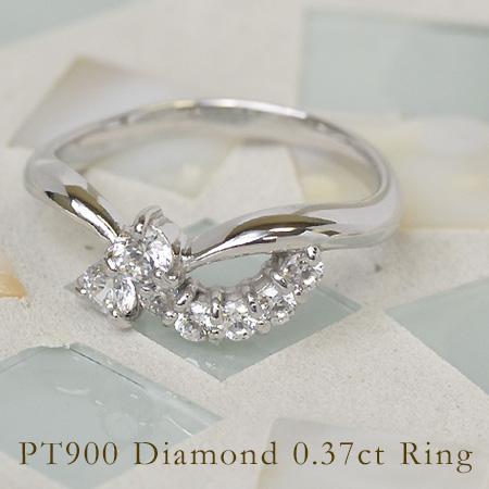 リング 0.37カラット ダイヤモンド 0.37カラット リング プラチナ900 プラチナ900 送料無料, neelセレクトショップ:851eb2ee --- sayselfiee.com