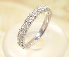 【GWクーポン配布中】エタニティーリング ダイヤモンド プラチナ900 送料無料