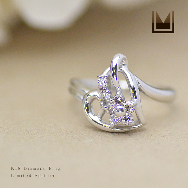 【1点限り ダイヤモンド】K18WG ダイヤモンド 0.22ct 0.22ct【1点限り】K18WG リング, シズショッピングサイト:742e7de0 --- sayselfiee.com