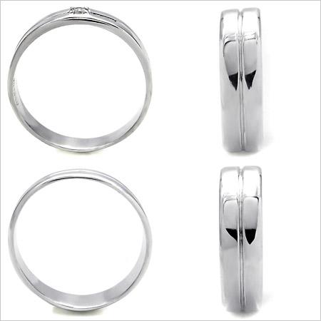 K18WG Lady's & Men's wedding rings (wedding ring) (MS0040)