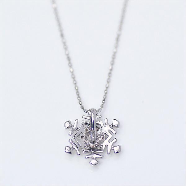 出售 ♦ ♦ 冬天雪吊墜 K18 鑽石