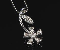 【GWクーポン配布中】ペンダントトップ ダイヤモンド フラワー 「fiore」 ゴールド K18 送料無料