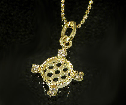 K18 ダイヤモンド ペンダントトップ 「rosone」送料無料 ネックレス ダイアモンド 誕生日 4月誕生石 18K 18金 ゴールド 記念日 メッセージ ギフト 贈り物