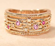 K18 ピンクサファイア ルビー ダイヤモンド リング 「melodia」送料無料 指輪 サファイヤ ダイアモンド ゴールド 18K 18金 誕生日 7月誕生石 9月誕生石 刻印 文字入れ メッセージ ギフト 贈り物 ピンキーリング対応可能