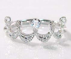 K18 ブルームーンストーン ダイヤモンド リング 「regina」 指輪 ゴールド 18K 18金 ダイアモンド ティアラ クラウン 王冠 誕生日 6月誕生石 刻印 文字入れ メッセージ ギフト 贈り物 ピンキーリング対応可能