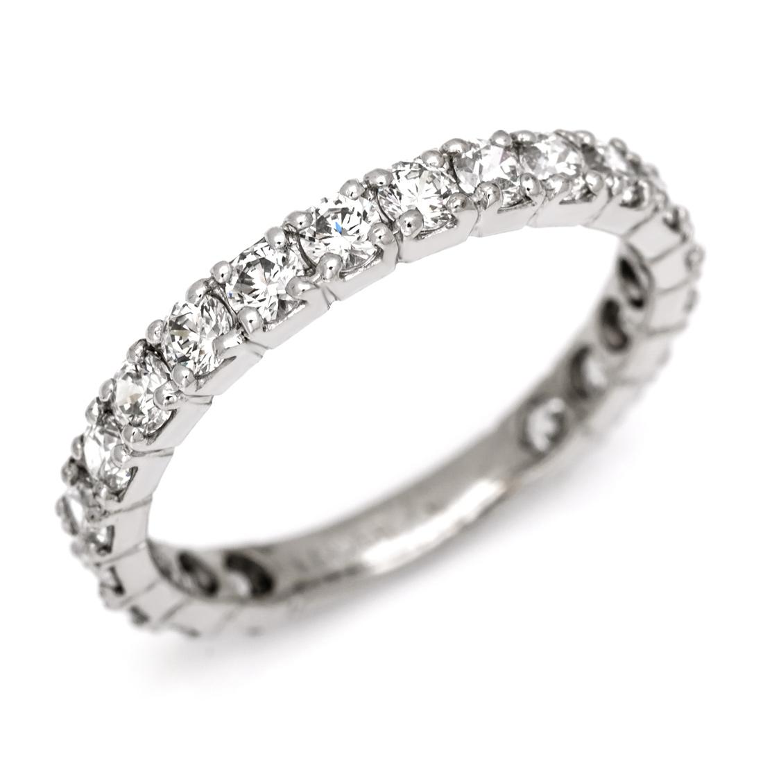 【GWクーポン配布中】エタニティーリング ダイヤモンド 1カラット ゴールド K18 送料無料