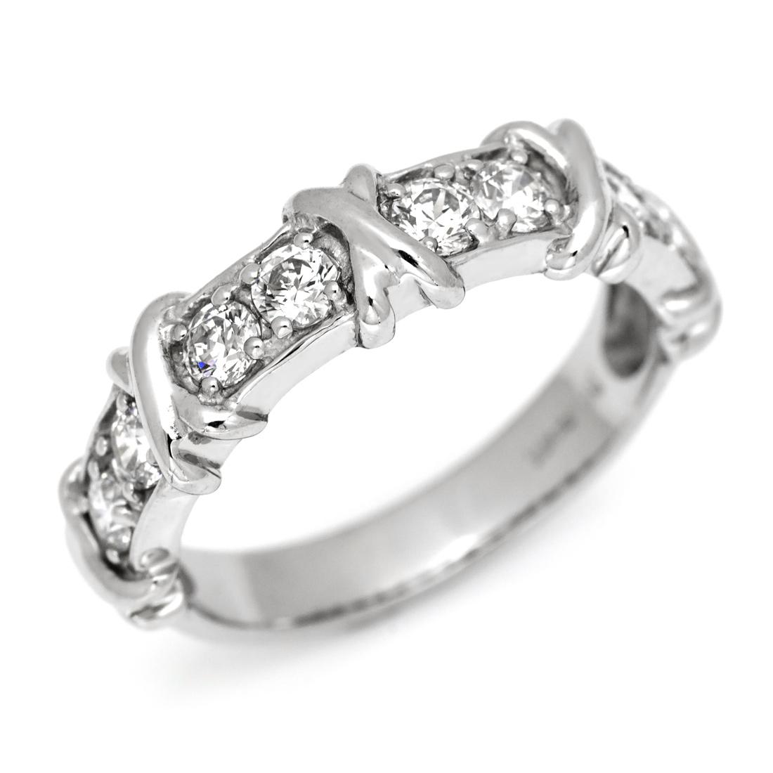 【GWクーポン配布中】リング ダイヤモンド 0.45カラット プラチナ900 送料無料