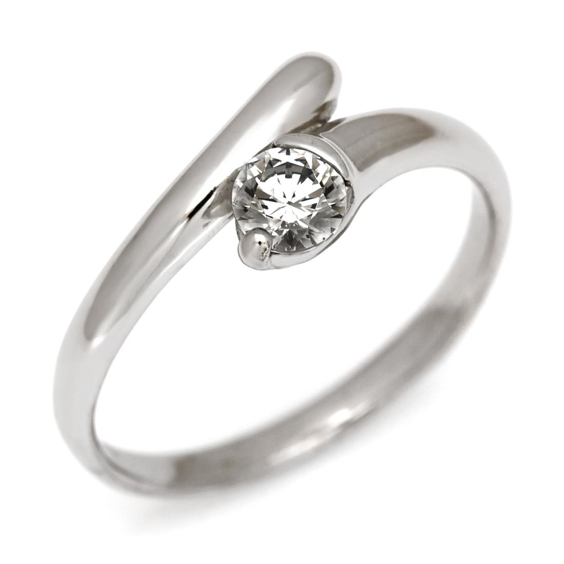 【GWクーポン配布中】リング ダイヤモンド 0.3カラット ゴールド K18 送料無料