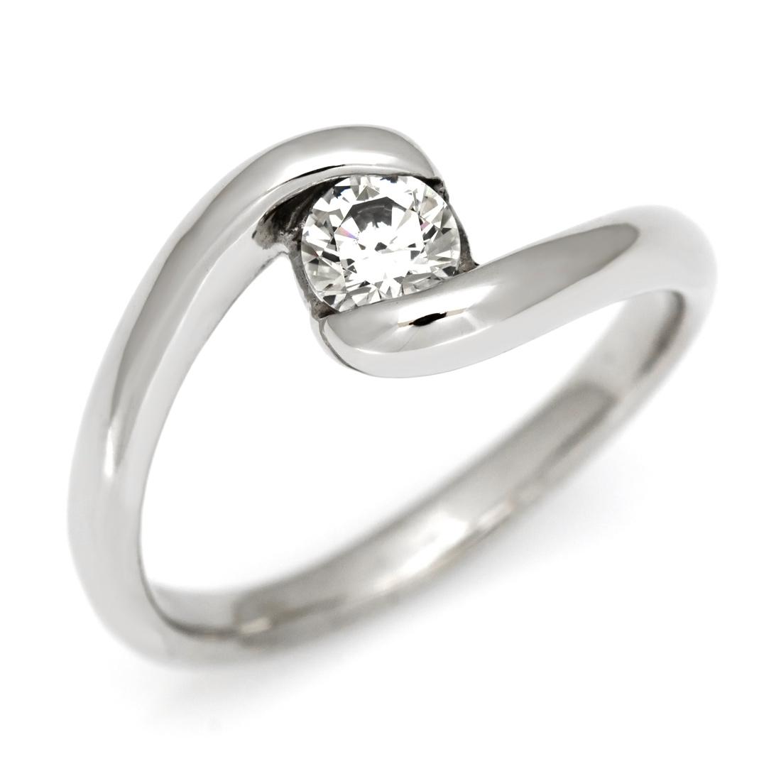 リング ダイヤモンド 0.3カラット ゴールド K18