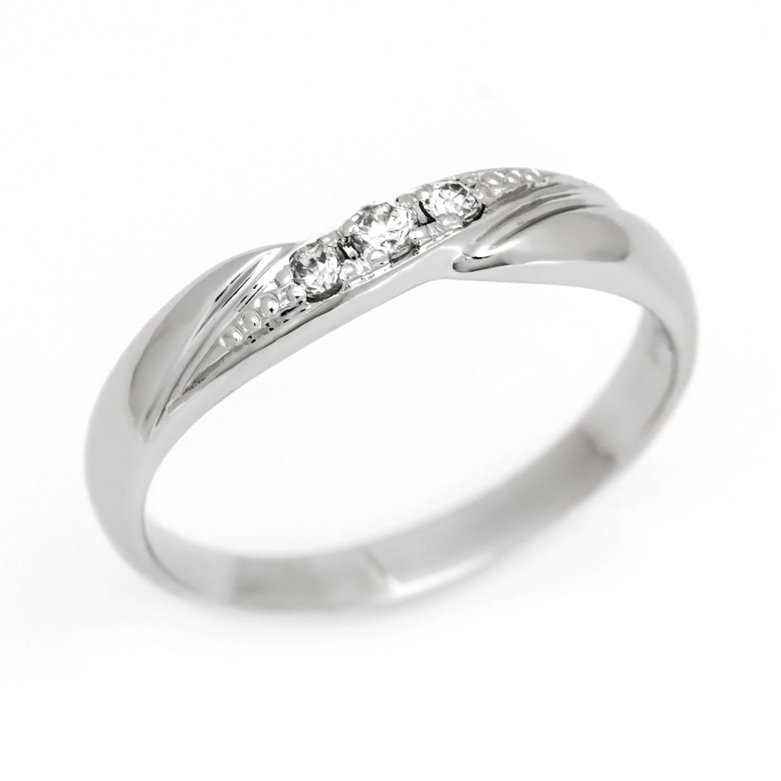 マリッジリング ダイヤモンド 「Lip」 プラチナ900 (レディース:1~20号)