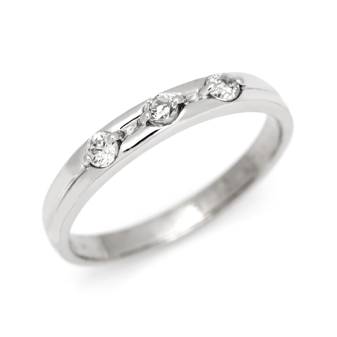【GWクーポン配布中】マリッジリング ダイヤモンド 「Tempo」 プラチナ900 (レディース:1~20号)