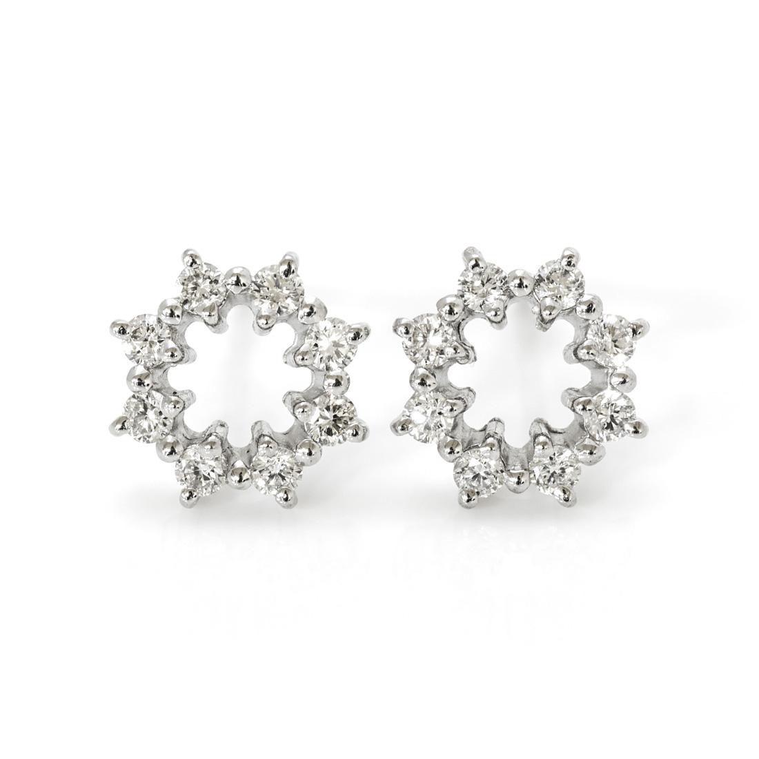 【GWクーポン配布中】スタッドピアス ダイヤモンド 0.22ct 「crystal」 プラチナ900 送料無料