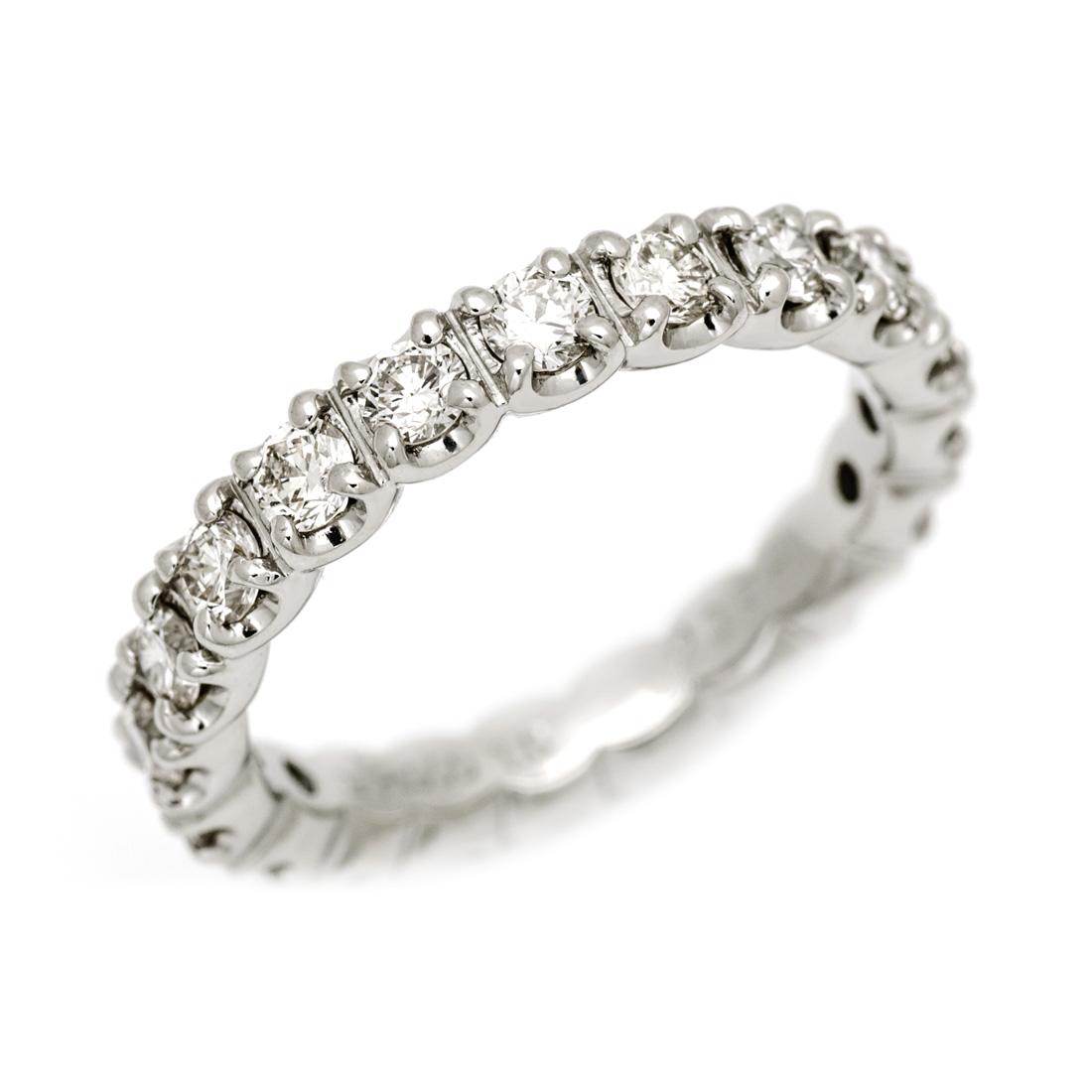 フルエタニティーリング ダイヤモンド 1カラット プラチナ900