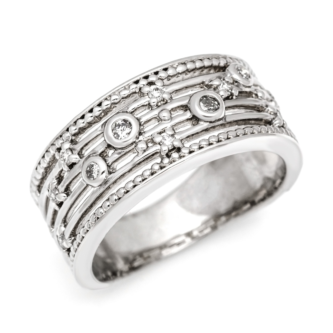 【GWクーポン配布中】K18 ダイヤモンド リング 「melodia」送料無料 指輪 ダイアモンド ゴールド 18K 18金 誕生日 4月誕生石 刻印 文字入れ メッセージ ギフト 贈り物 ピンキーリング対応可能