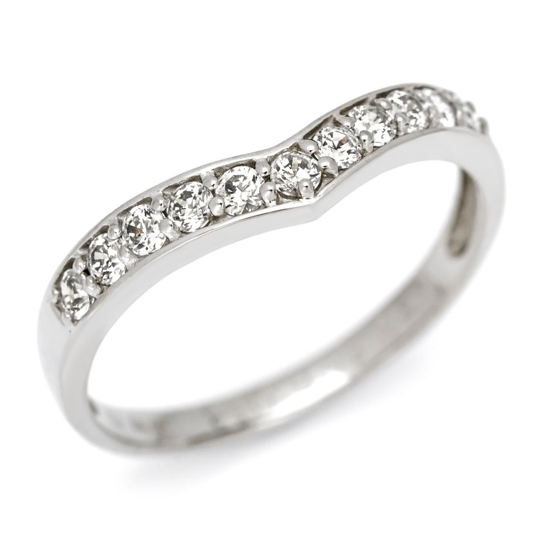 【GWクーポン配布中】K18 ダイヤモンド リング送料無料 指輪 ダイアモンド ゴールド 18K 18金 V字 誕生日 4月誕生石 刻印 文字入れ メッセージ ギフト 贈り物 ピンキーリング対応可能